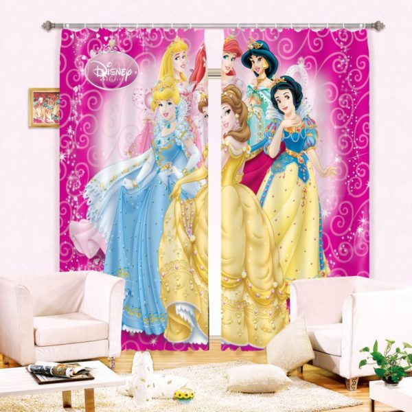 Amazing Disney Princess Curtain Set