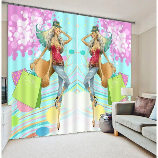 unique Shopaholic Curtain Set