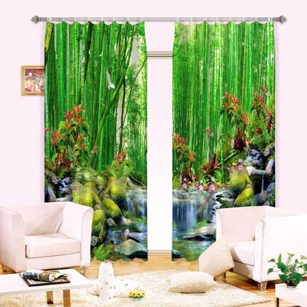 8amazon zpsd7gbuuni 600x600 - Cool Nature Themed Curtain set