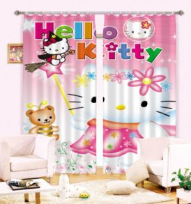 Exquisite Hello Kitty Curtain Set