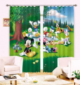 Disney Picnic Curtain Set