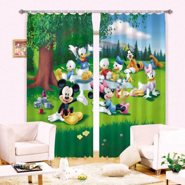 Disney Picnic Curtain Set