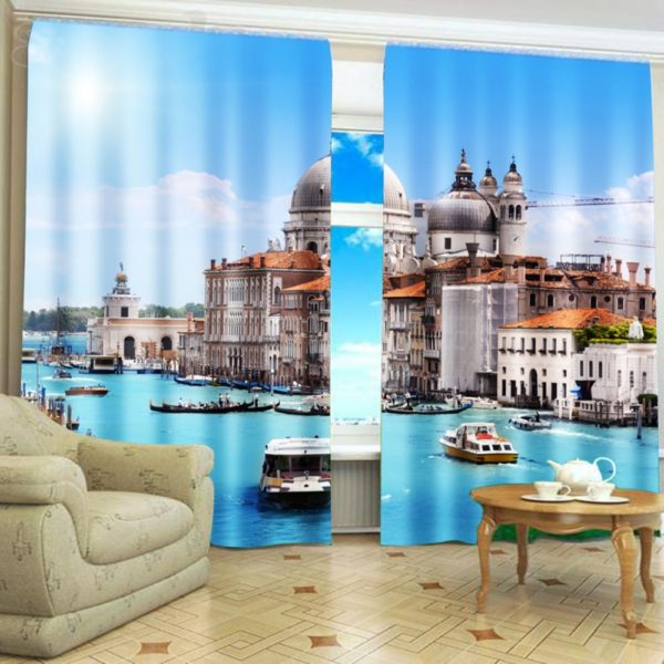 97amazon zpsgohtkx59 600x600 - City Themed Curtain Set