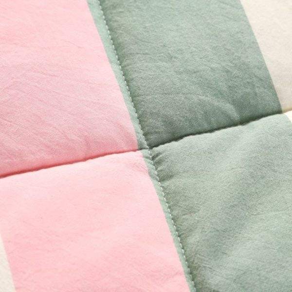 Beautiful Pink and Aqua Washed Cotton Comforter 6 600x600 - Beautiful Pink and Aqua Washed Cotton Comforter