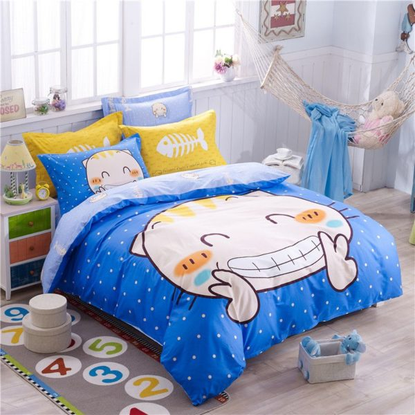 100 Cotton Bedding Set Model CD AL MYGS Q 1 600x600 - 100% Cotton Bedding Set - Model C&D-AL-MYGS