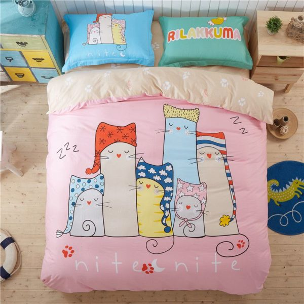 100 Cotton Bedding Set Model CD AL QWMM Q 1 600x600 - 100% Cotton Bedding Set - Model C&D-AL-QWMM