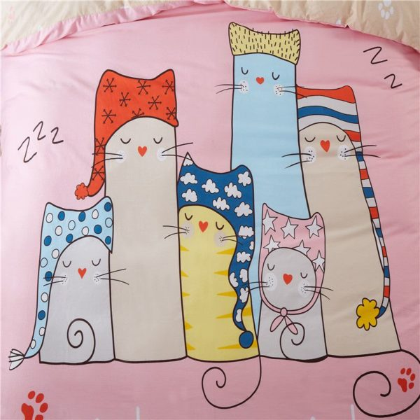 100 Cotton Bedding Set Model CD AL QWMM Q 2 600x600 - 100% Cotton Bedding Set - Model C&D-AL-QWMM