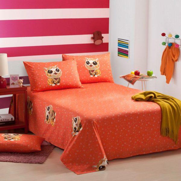 100 Cotton Bedding Set Model CD BYF M Q 3 600x600 - 100% Cotton Bedding Set - Model C&D-BYF-M