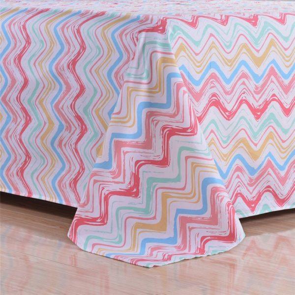 100 Cotton Bedding Set Model CD HC AQMM 2 600x600 - 100% Cotton Bedding Set - Model C&D-HC-AQMM