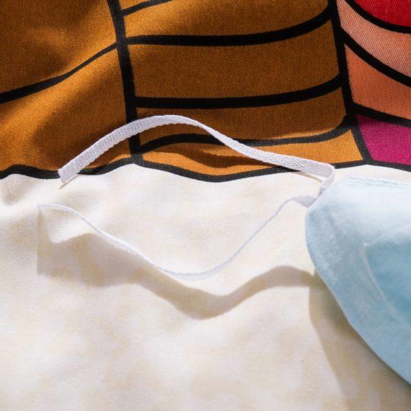 100% Cotton Bedding Set - Model C&D-HC-FL