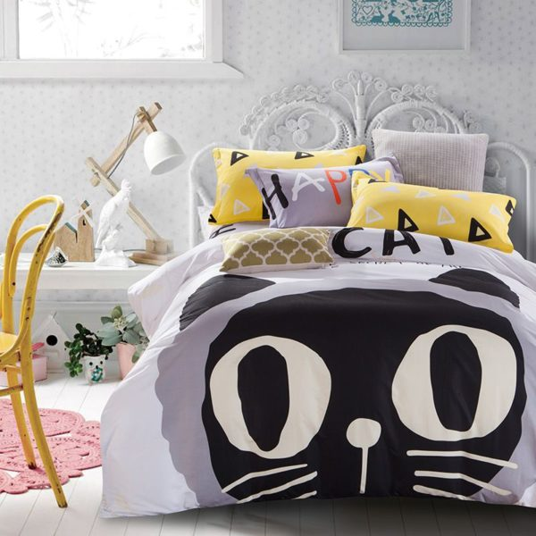 100 Cotton Bedding Set Model CD HC MXQ 8 600x600 - 100% Cotton Bedding Set - Model C&D-HC-MXQ