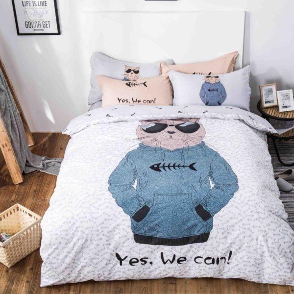 100 Cotton Bedding Set Model CD HC SA 1 600x600 - 100% Cotton Bedding Set - Model C&D-HC-SA