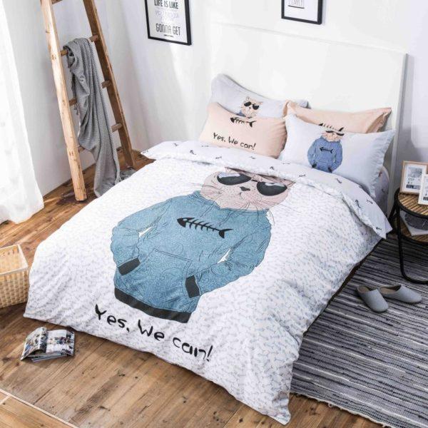 100 Cotton Bedding Set Model CD HC SA 10 600x600 - 100% Cotton Bedding Set - Model C&D-HC-SA