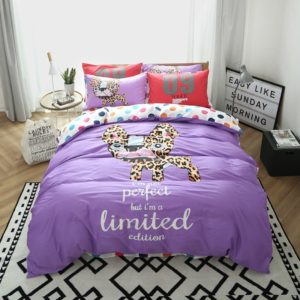 100% Cotton Bedding Set - Model C&D-HC-WXR