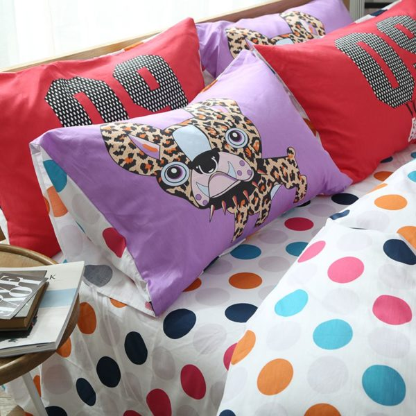 100 Cotton Bedding Set Model CD HC WXR 4 600x600 - 100% Cotton Bedding Set - Model C&D-HC-WXR