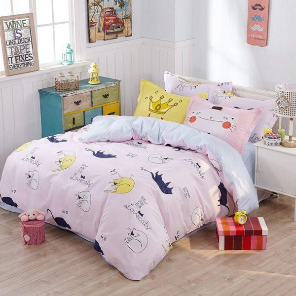 100 Cotton Bedding Set Model CD HH CA 1 600x600 - 100% Cotton Bedding Set - Model C&D-HH-CA