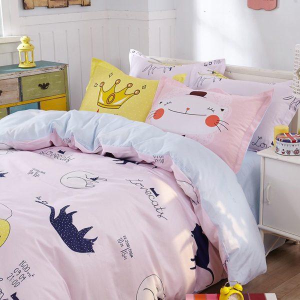 100 Cotton Bedding Set Model CD HH CA 5 600x600 - 100% Cotton Bedding Set - Model C&D-HH-CA
