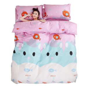 100 Cotton Bedding Set Model CD HH MMBB 1 300x300 - 100% Cotton Bedding Set - Model C&D-HH-MMBB
