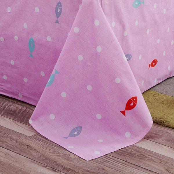 100 Cotton Bedding Set Model CD HH MMBB 2 600x600 - 100% Cotton Bedding Set - Model C&D-HH-MMBB