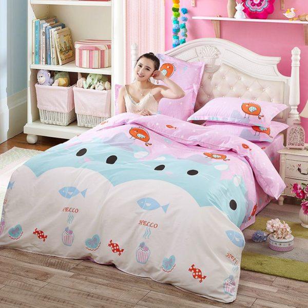 100 Cotton Bedding Set Model CD HH MMBB 7 600x600 - 100% Cotton Bedding Set - Model C&D-HH-MMBB