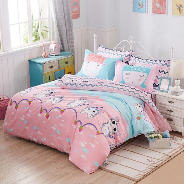 100 Cotton Bedding Set Model CD HH TTM 1 600x600 - 100% Cotton Bedding Set - Model C&D-HH-TTM