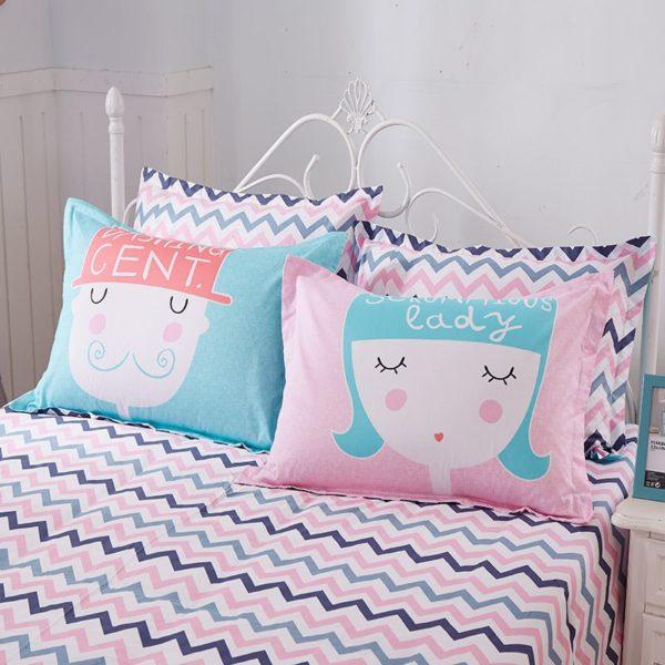 100 Cotton Bedding Set Model CD HH TTM 8 600x600 - 100% Cotton Bedding Set - Model C&D-HH-TTM