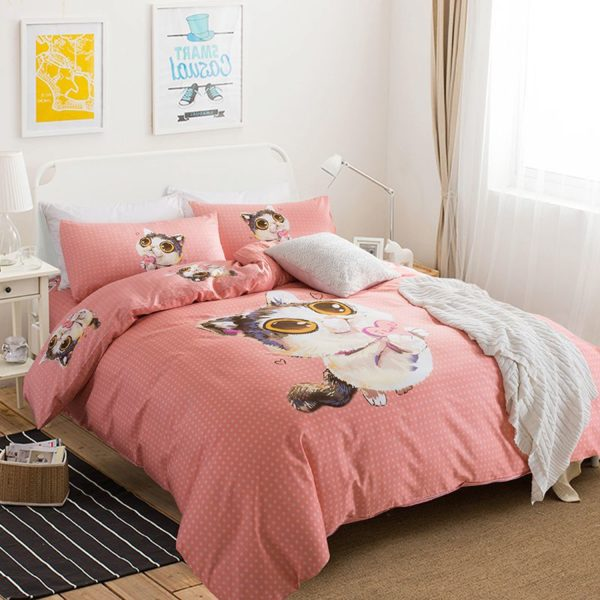 100 Cotton Bedding Set Model CD MC LZMXDN 1 600x600 - 100% Cotton Bedding Set - Model C&D-MC-LZMXDN