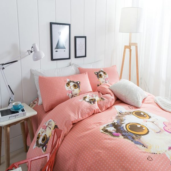 100 Cotton Bedding Set Model CD MC LZMXDN 3 600x600 - 100% Cotton Bedding Set - Model C&D-MC-LZMXDN