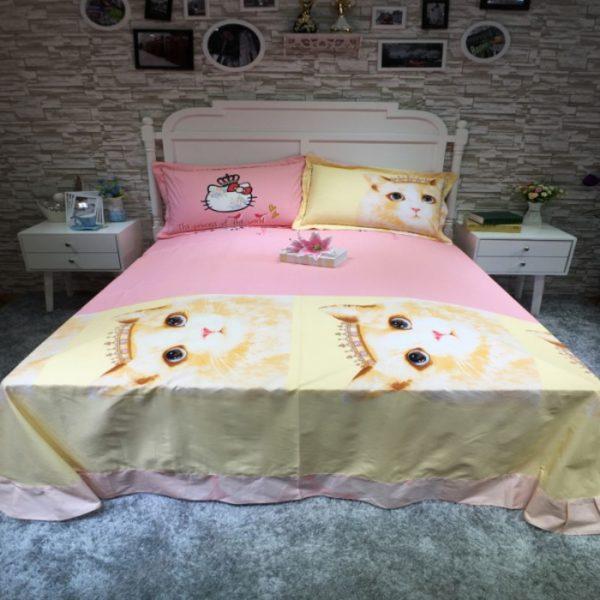 100 Cotton Bedding Set Model CD YSBN MHTT 5 600x600 - 100% Cotton Bedding Set - Model C&D-YSBN-MHTT