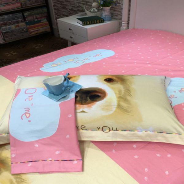 100 Cotton Bedding Set Model CD YSBN WYAN 10 600x600 - 100% Cotton Bedding Set - Model C&D-YSBN-WYAN