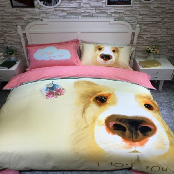 100 Cotton Bedding Set Model CD YSBN WYAN 3 600x600 - 100% Cotton Bedding Set - Model C&D-YSBN-WYAN