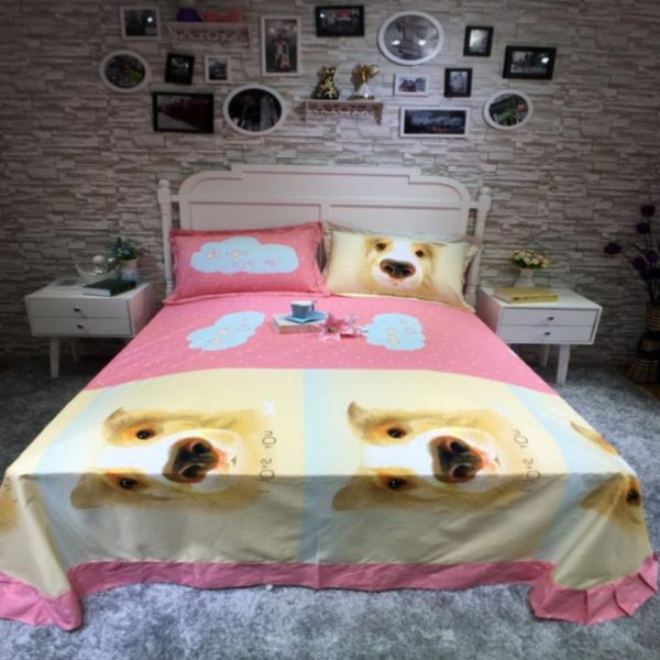 100 Cotton Bedding Set Model CD YSBN WYAN 4 600x600 - 100% Cotton Bedding Set - Model C&D-YSBN-WYAN
