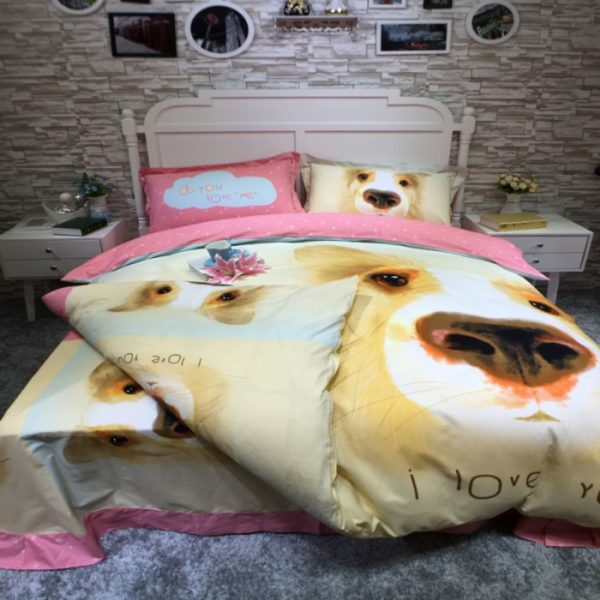 100 Cotton Bedding Set Model CD YSBN WYAN 9 600x600 - 100% Cotton Bedding Set - Model C&D-YSBN-WYAN