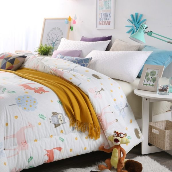 100 Cotton High Quality Microfiber Comforter Model 1 2