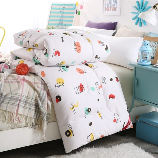 100 Cotton High Quality Microfiber Comforter Model 2 7 600x600 - 100% Cotton High Quality Microfiber Comforter - Model 2
