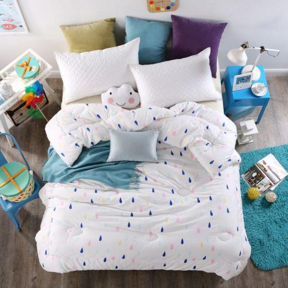 100% Cotton High Quality Microfiber Comforter