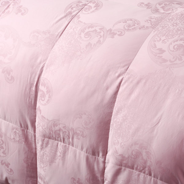 100 Cotton Satin Jacquard Duck Down Comforter Model 2 12 600x600 - 100% Cotton Satin Jacquard Duck Down Comforter - Model 2