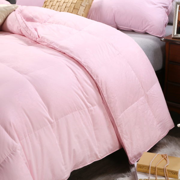 100 Cotton Satin Jacquard Duck Down Comforter Model 2 7 600x600 - 100% Cotton Satin Jacquard Duck Down Comforter - Model 2