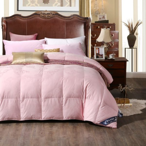 100 Cotton Satin Jacquard Duck Down Comforter Model 2 9 600x600 - 100% Cotton Satin Jacquard Duck Down Comforter - Model 2