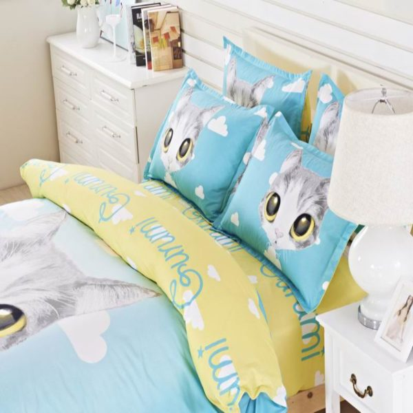50 Cotton 50 Polyester Bedding Set Model CD MS MMM 6 600x600 - 50% Cotton 50% Polyester Bedding Set - Model C&D-MS-MMM
