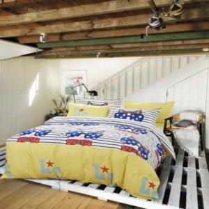 50% Cotton 50% Polyester Bedding Set - Model C&D-MS-SSMM