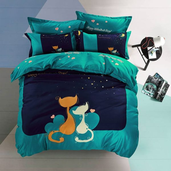 50 Cotton 50 Polyester Bedding Set Model CD YJ YK 4 600x600 - 50% Cotton 50% Polyester Bedding Set - Model C&D-YJ-YK