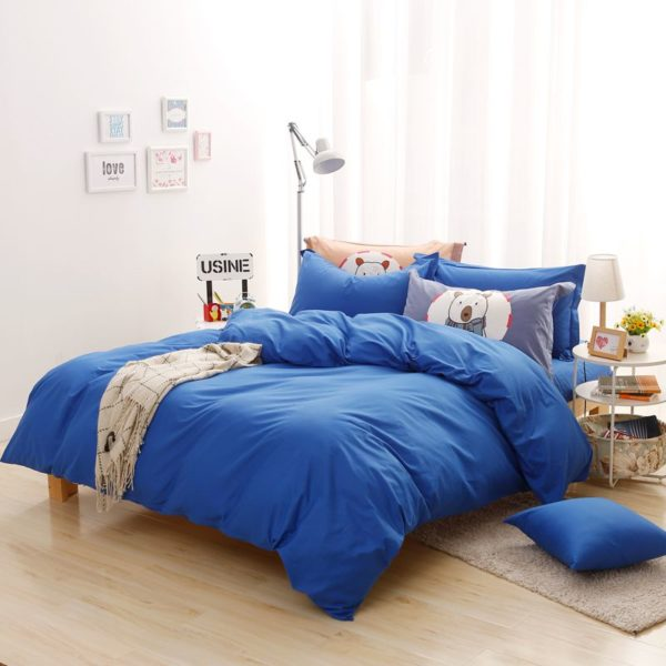 BYF BX HuLan Brief Solid Color Bedding Set 10 600x600 - BYF-BX-HuLan Brief Solid Color Bedding Set