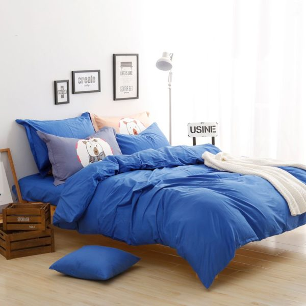 BYF BX HuLan Brief Solid Color Bedding Set 3 600x600 - BYF-BX-HuLan Brief Solid Color Bedding Set