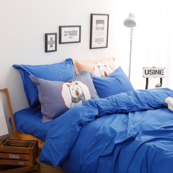 BYF BX HuLan Brief Solid Color Bedding Set 5 600x600 - BYF-BX-HuLan Brief Solid Color Bedding Set