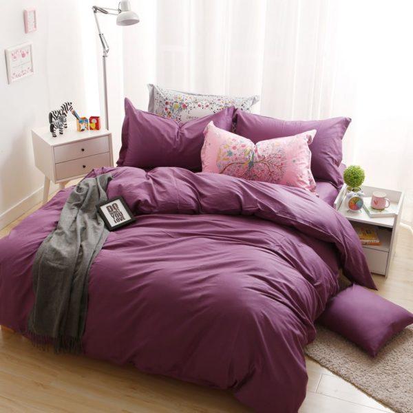 BYF HS MeiZi Brief Solid Color Bedding Set 3 600x600 - BYF-HS-MeiZi Brief Solid Color Bedding Set