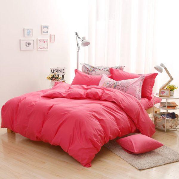Byf Hs Zhuhong Brief Solid Color Bedding Set Ebeddingsets