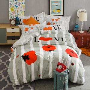 BYF JY 100 Cotton Sanding Fresh Brief Bedding Set 4 300x300 - BYF-JY 100% Cotton Sanding Fresh Brief Bedding Set