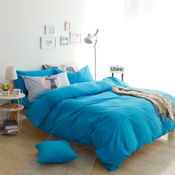 BYF ML GuLan Brief Solid Color Bedding Set 8 600x600 - BYF-ML-GuLan Brief Solid Color Bedding Set