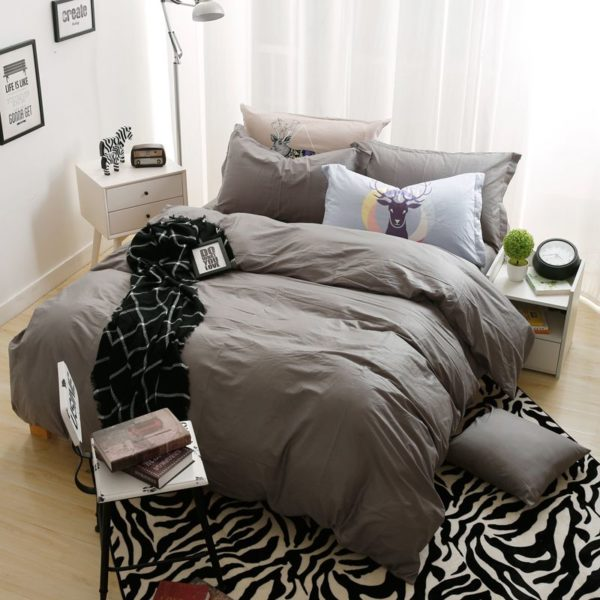 BYF ML ShenHui Brief Solid Color Bedding Set 5 600x600 - BYF-ML-ShenHui Brief Solid Color Bedding Set